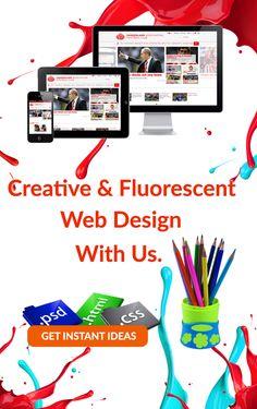 Responsive and Creative Web design Service.