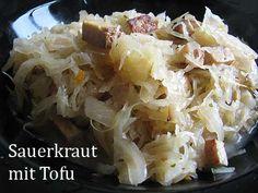 Sauerkraut mit Räuchertofu