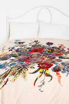 Romantic Floral Duvet Cover