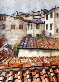 Mary Gibbs watercolor