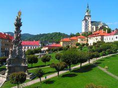 View, Kremnica castle