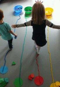 eğitici oyun ve oyuncaklar ana sınıfı Circus Activities, Montessori Activities, Educational Activities, Learning Activities, Physical Activities For Toddlers, Vestibular Activities, Kids Learning, Child Development Activities, Physical Development