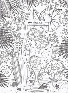 Very detailed and difficult coloring page of Heart doodles free to