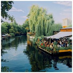 Club der Visionaere on Landwehr canal, Berlin - 📷🇩🇪 - #club #music #chill #terrace #berlin #germany #beautiful #photo #river #canal #travel #travelphotography #travelgram #potd #photooftheday #l4l #f4f #trip