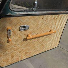 bamboo doorpull/armrests
