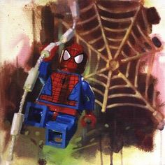 Spiderman from James Paterson available now from Evergreen Art Cafe
