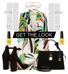 """""""get the look:paradise outfit"""" by katerinaso19 on Polyvore featuring Emilio Pucci, Gianvito Rossi, Wildfox, Miu Miu and OPI"""