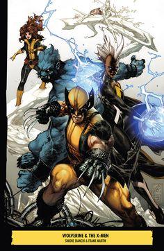 Wolverine & The X-Men •Simone Bianchi