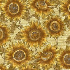Sunflower Journal - Summer Floral Dance - Honey