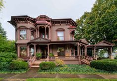 1876 Italianate - Weedsport, NY - $289,000--Im not usually much for the Italianates but this one....ohhhh myyyy. Its magnificent. Something about it. It has my heart. Even with all that carpet and wallpaper its still glorious. Perfect.