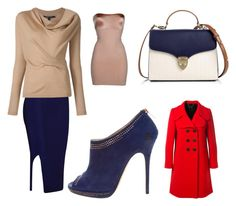 """""""Work Wear"""" by jamesj0618 on Polyvore featuring SPANX, Jimmy Choo, Aspinal of London and Marc Jacobs"""