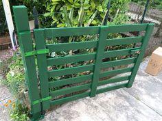 cancello con bancale