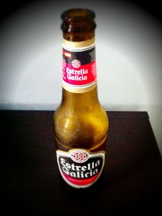 ! I´ve already drank this beer ! From Spain ! [Estrella Galicia - Premium American Lager - 5.5%abv]