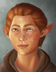 Inquisitor Ferynn Lavellan by ImRowanartist (Dragon Age Inquisition)