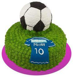 Soccer cake ; torta de futbol