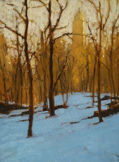 New York City winter   Brian Blood