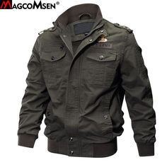 #BestPrice #Fashion  MAGCOMSEN Jackets Man Winter Military Bomber Jacket and Coat for Man Army Tactical Jacket Windbreakers Jaqueta…