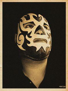 Enmascarado Luchador Masks, Mexican Wrestler, South Of The Border, Masked Man, Professional Wrestling, Mexican Art, Game Design, Architecture Art, Ranger