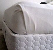 Tip / Trick / Life Hack: How to make your bed with hospital corners.