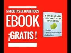 E book grátis 5 receitas para diabéticos