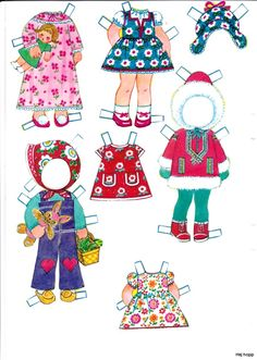 Övriga 11 | Maggans nostalgiska klippdockor * The International Paper Doll Society by Arielle Gabriel for all paper doll and paper toy lovers. Mattel, DIsney, Betsy McCall, etc. Join me at ArtrA, #QuanYin5 Linked In QuanYin5 YouTube QuanYin5!