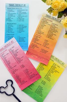 acking for trips, just got much easier with Travel Checklists ! (Free Printables included)