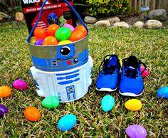 Una canasta de Pascua de Star Wars fue la elegida por mi hijo para esta temporada. La encontramos en @kohls  #SpringatKohls #ad