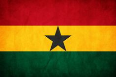 Designed and adopted in 1957 and flown until 1959 before being reinstated in 1966, the flag of Ghana was the first African flag after Ethiopia's to feature the Pan-African colors. The black star was taken from the flag of the Black Star Line, and the serves as a symbol of African emancipation. The red represents the blood of those who fought and died for Ghanaian independence, the gold symbolizes the country's mineral wealth, and the green stands for the country's forests and natural wealth.