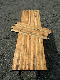 Pallet Table No. 1. $178.00, via Etsy.