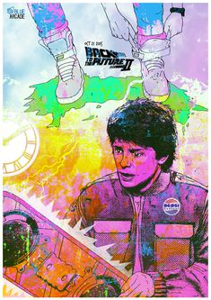 Back to the Future by Gav Bansal - Home of the Alternative Movie Poster -AMP-