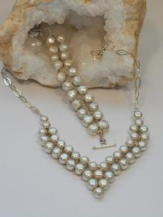 *Pearl Necklace 1 - Andrea Jaye Collection