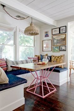 10 Kitchen Nooks That Make Us Want to Brunch All Day (And Their Best Elements) #nousDECOR