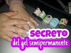 SECRETO PARA QUE ADHIERA PERFECTO EL GEL SEMIPERMANENTE! - YouTube 3d Nail Art, 3d Nails, Uñas Diy, Gelato, Diy And Crafts, Youtube, Origami, Amy, Enamels
