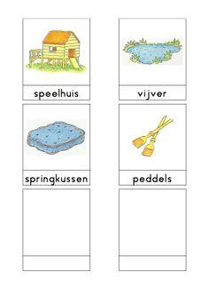Woordkaarten Bas 'De speeltuin' 3