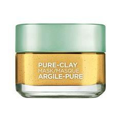 Clarify and Smooth Pure Clay Face Mask for Rough Skin - L'Oréal Paris