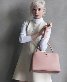 Les photos de la campagne Louis Vuitton avec Michelle Williams 2015   Glamour