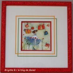 Brigitte B./ élève de Manel / filets papier et biseau 45° Brigitte B, Filets, Blog, Frame, Home Decor, Paper, Picture Frame, Decoration Home, Room Decor