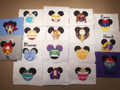 Disney Shirts Mister Miss Mouse Shirts Family by MouseKouture1