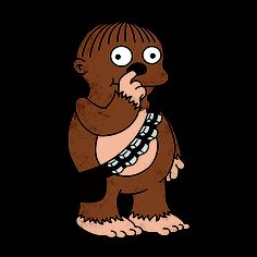 I BENT MY WOOKIEE  by egerbver   A simple joining of two cultural icons; Star Wars and the Simpsons.