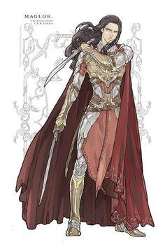noldor, maglor, and jrrt image Thranduil, Legolas, Fantasy World, Fantasy Art, Fantasy Places, Character Concept, Character Art, Das Silmarillion, Beau Film
