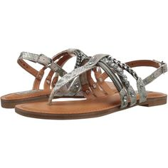 Not Rated Tilda (White) Women's Sandals ($28) ❤ liked on Polyvore featuring shoes, sandals, white, open toe shoes, decorating shoes, embellished shoes, white platform shoes and open toe platform sandals