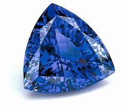 Gemma di Tanzanite blu