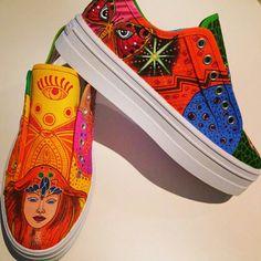 Zapatillas Victoria personalizadas!😍