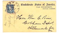 USPS Folly Was Foreshadowed by Confederate Post Office