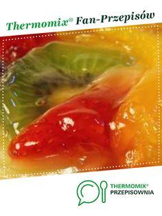 Glazura, nabłyszczacz do ciast i tart z owocami jest to przepis stworzony przez użytkownika ThermoKRK. Ten przepis na Thermomix<sup>®</sup> znajdziesz w kategorii Słodkie wypieki na www.przepisownia.pl, społeczności Thermomix<sup>®</sup>. Sweets Cake, Cucumber, Cake Recipes, Cabbage, Food And Drink, Stuffed Peppers, Cookies, Baking, Fruit