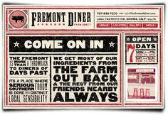 "Fremont Diner...a ""must eat"" in Sonoma."