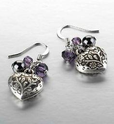 Cute Heart Earings