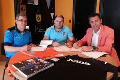 El Burela Pescados Rubén y Joma renuevan su contrato de patrocinio