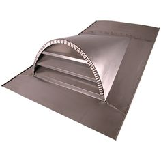 """Copper dormer vents and stainless steel dormer vents can be pitched to match your roof line.  Available in both 18"""" and 24"""" sizes.  Made of strong 16 ounce copper.  All joints are soldered created a stronger more weather resistant dormer vent.  Custom sizes and configurations are available."""