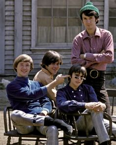 The Monkees - 1966 Michael Nesmith, 70s Music, Davy Jones, The Monkees, The Good Old Days, Famous People, Tv Shows, The Past, This Or That Questions